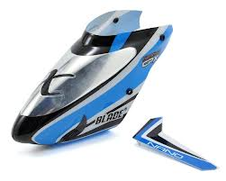 Nano nCP X Complete Blue Canopy with Vertical Fin