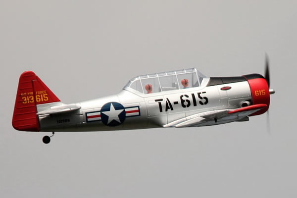 Dynam AT-6 Texan ARTF with retracts