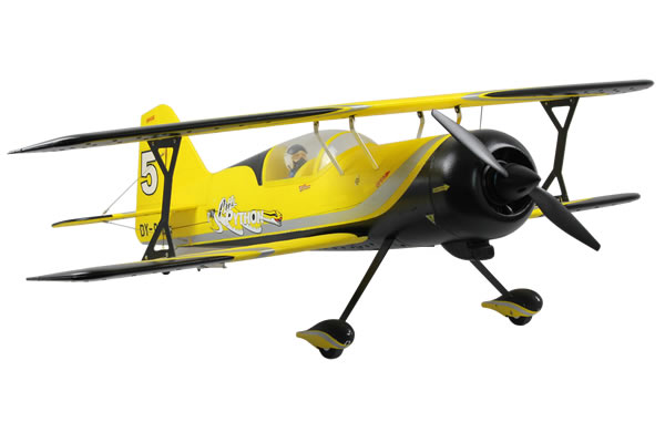 Dynam Pitts Model 12 ARTF Bi-Plane - Yellow