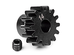 Pinion Gear 14T (1M 5 mm Shaft)