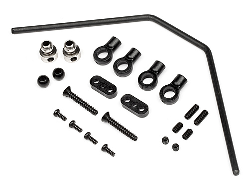 Front Roll Bar Set 3mm Trophy Truggy