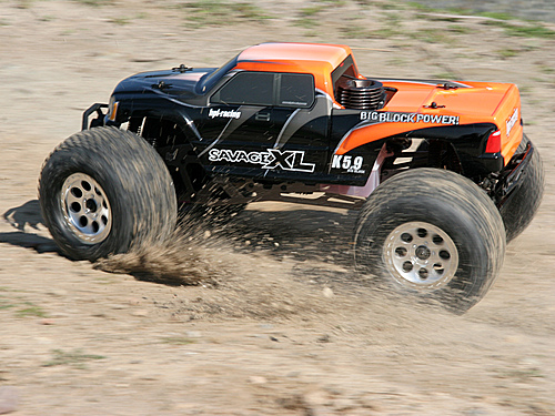 RTR SAVAGE XL 5.9 WITH GIGANTE TRUCK BODY