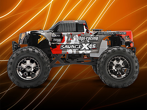 RTR Savage X 4.6 GT-3 Truck Body