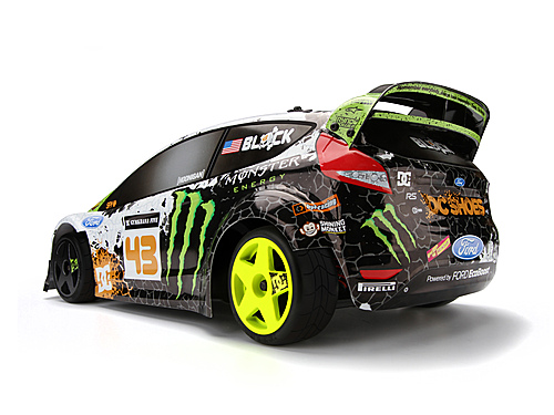 Ken Block WR8 Flux With Ford Fiesta H.F.H.V. Body