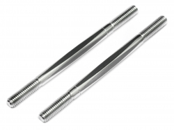 Aluminium Turnbuckles 6x92mm (2 pcs)