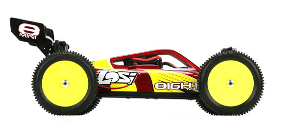 1:14 Scale Mini 4WD Brushless Buggy Red
