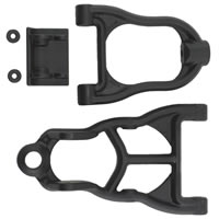 RPM Baja 5B Front Upper and Lower Arm Black